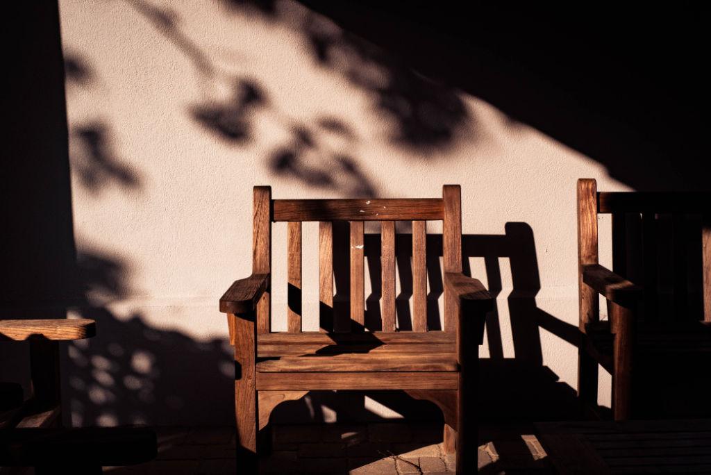 Auf diesem Stuhl in Brasilien
