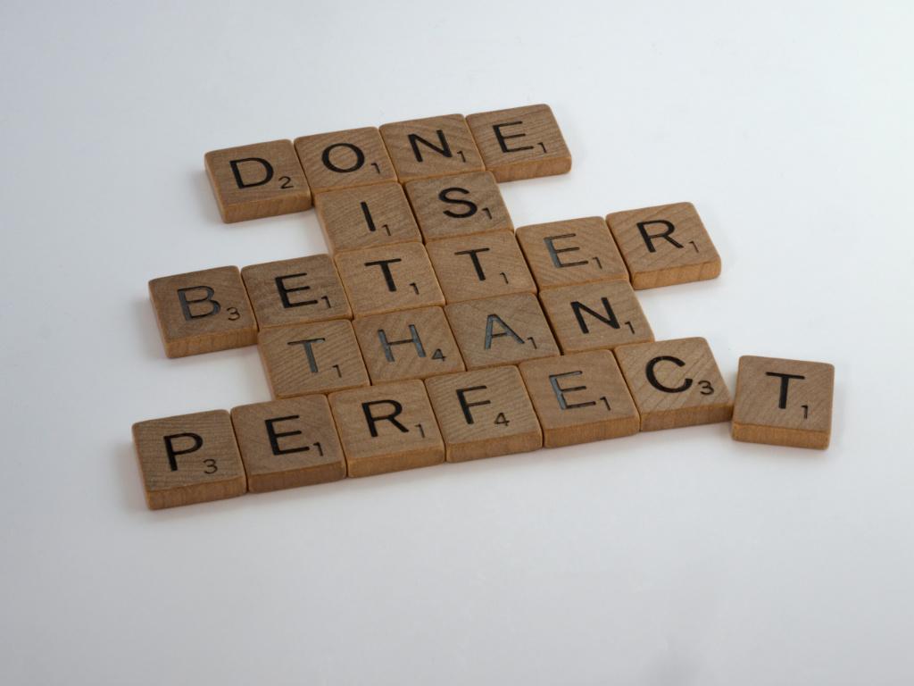 Wieviel Perfektionismus braucht mein Onlinebusiness?